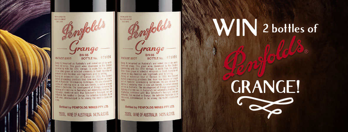 Wine Penfolds Grange with Wine Selectors